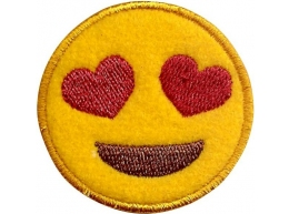 patch-smile-olhos-coracoes-amarelo-1859